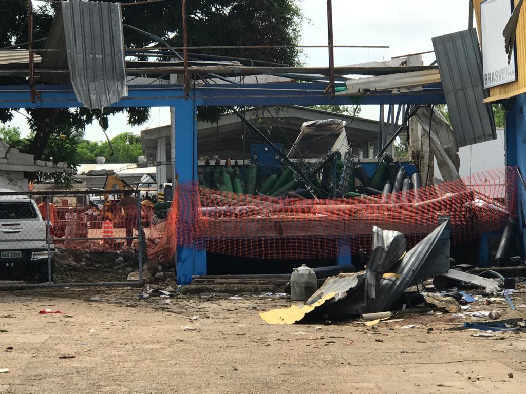 Auto de vistoria de empresa de gás onde houve explosões estava vencido há 3 anos, diz Defesa Civil - Notícias - Plantão Diário