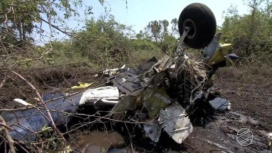 Polícia investiga possível crime de homicídio em queda de avião no Pantanal de MS em 2016