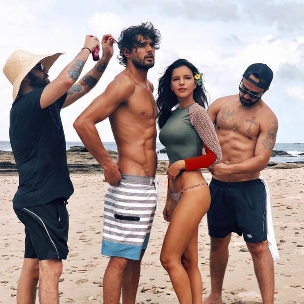 Mariana Rios e Marlon Teixeira em ensaio (Foto: Reprodução/Instagram)