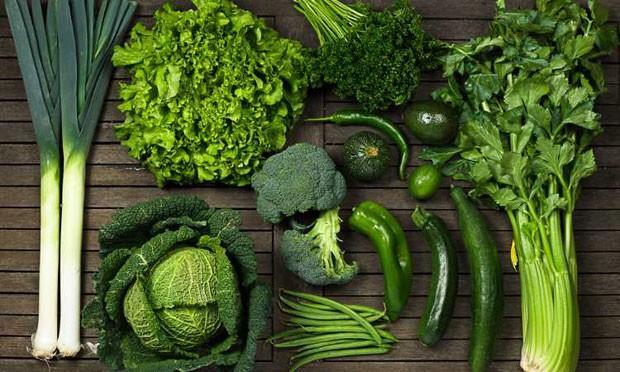 Vegetais verdes escuros são uma boa pedida para quem é do grupo de risco (Foto: Reprodução/Instagram)