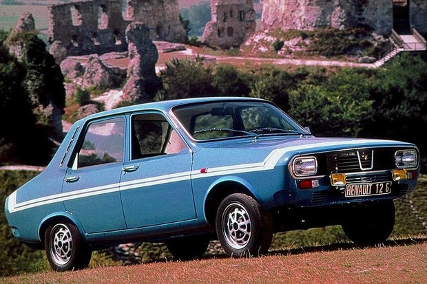 Renault 12 não era feio, mas não chegava ao equilíbrio de proporções do Corcel (Foto: Divulgação)