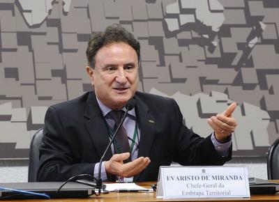 Evaristo de Miranda (Foto: Marcos Oliveira/Agência Senado)