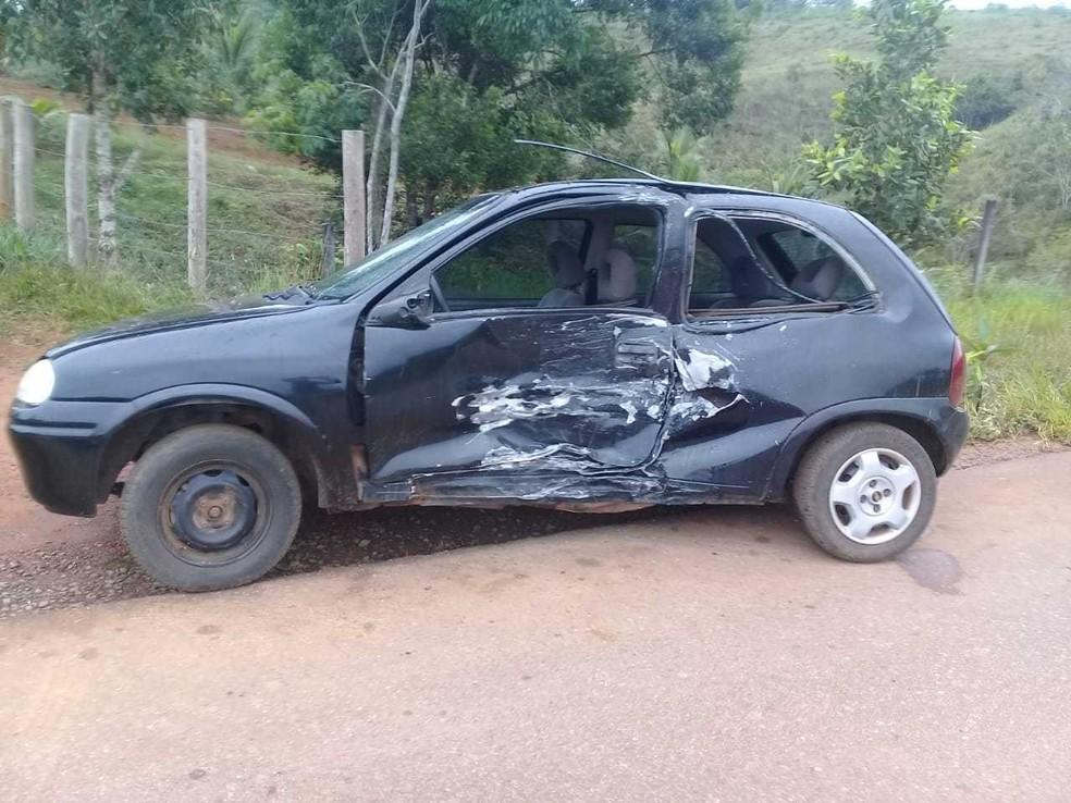 Acidente ocorreu na BA-001, no sul da Bahia — Foto: Foto: PRE