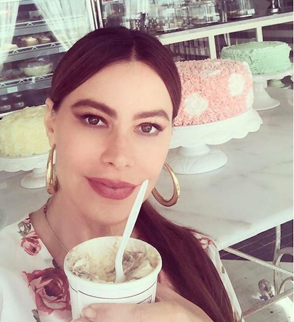 A atriz Sofía Vergara (Foto: Instagram)