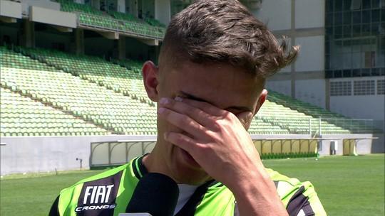 Emocionado com estreia no profissional, Flávio sentiu que faria um gol na partida