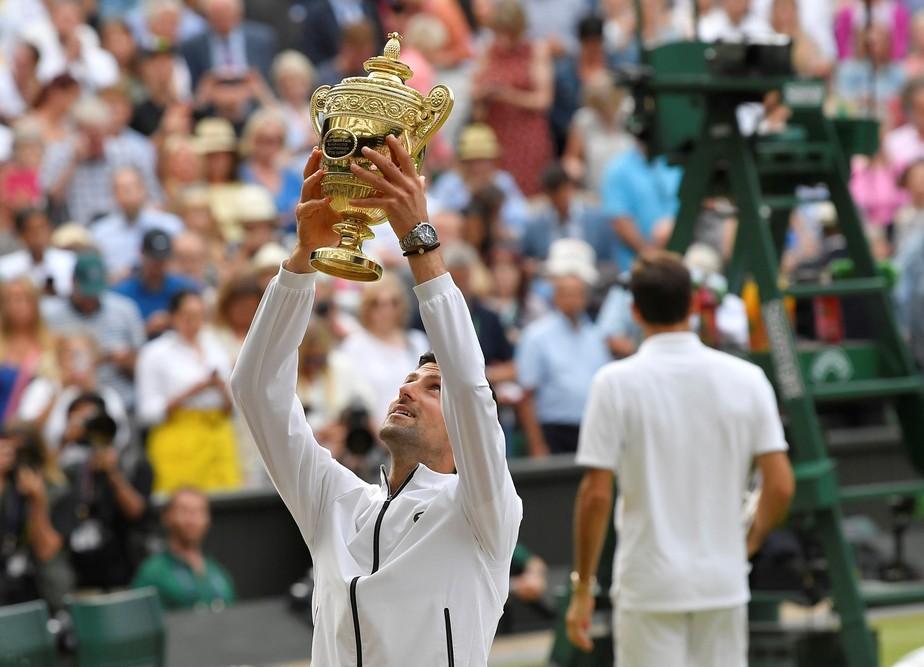 Final entre Federer e Djokovic se torna a mais longa de Wimbledon; veja os recordes dos Grand Slams