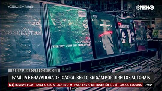 Família e gravadora de João Gilberto brigam por direitos autorais