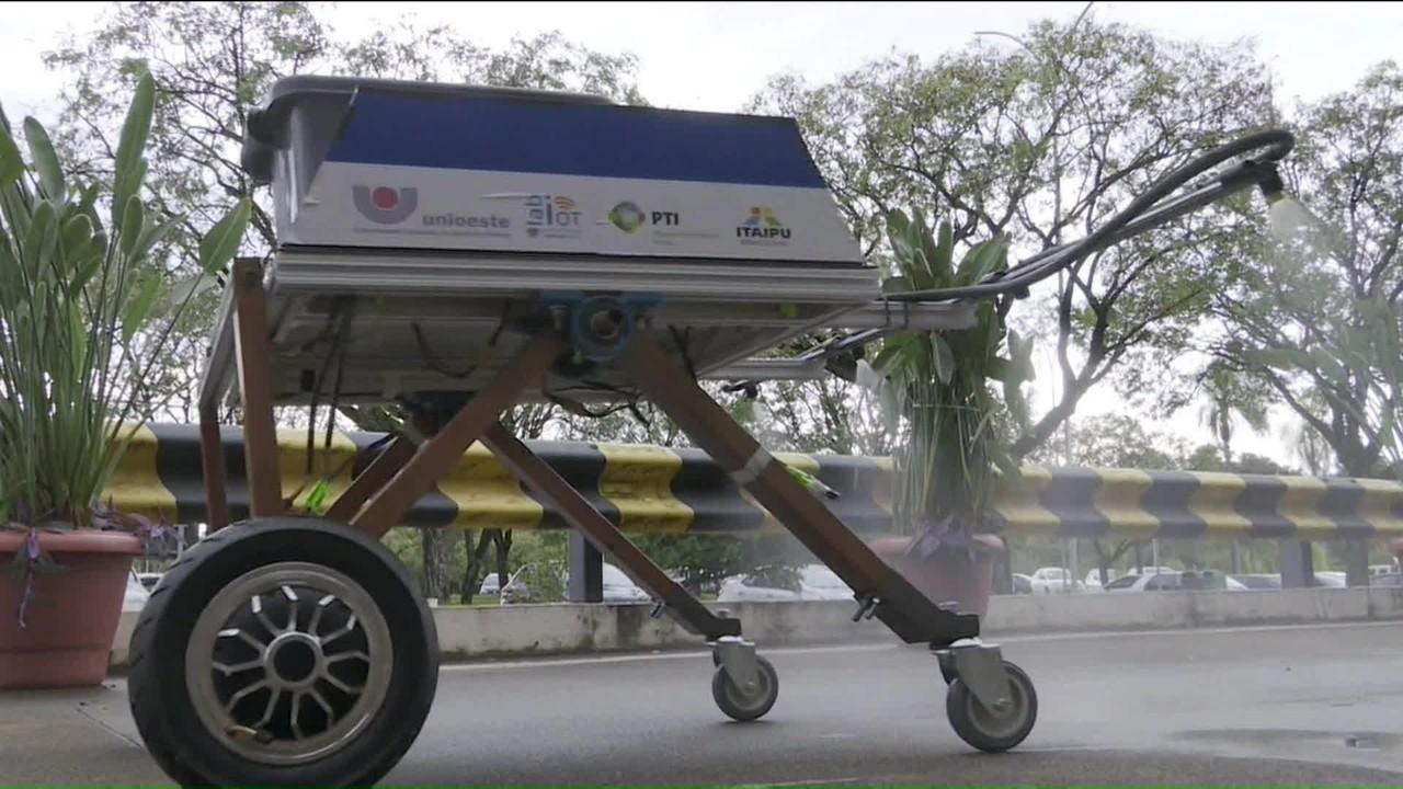 Brasileiros desenvolvem robô 'faxineiro' para hospitais