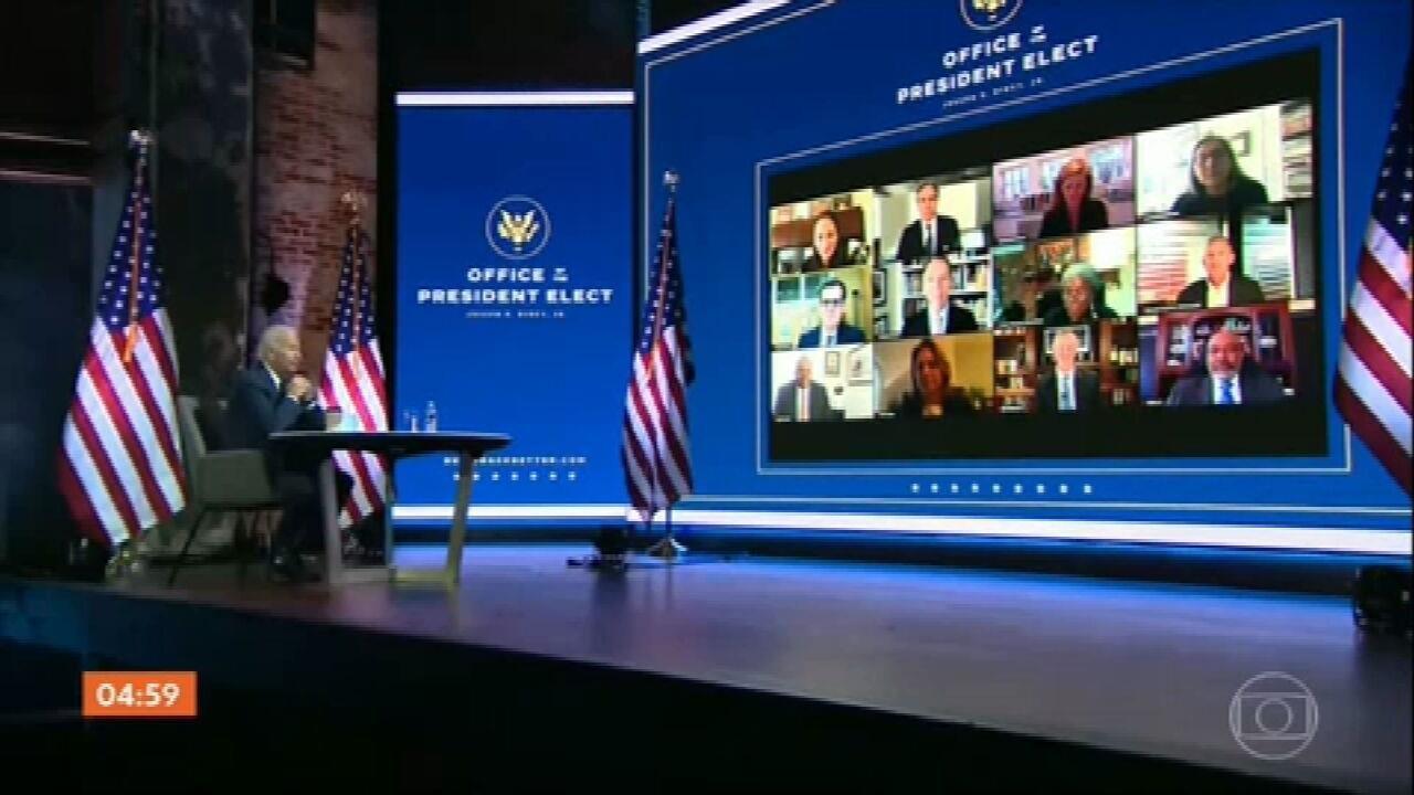 Biden anuncia alguns nomes que vão ocupar o alto escalão da Casa Branca