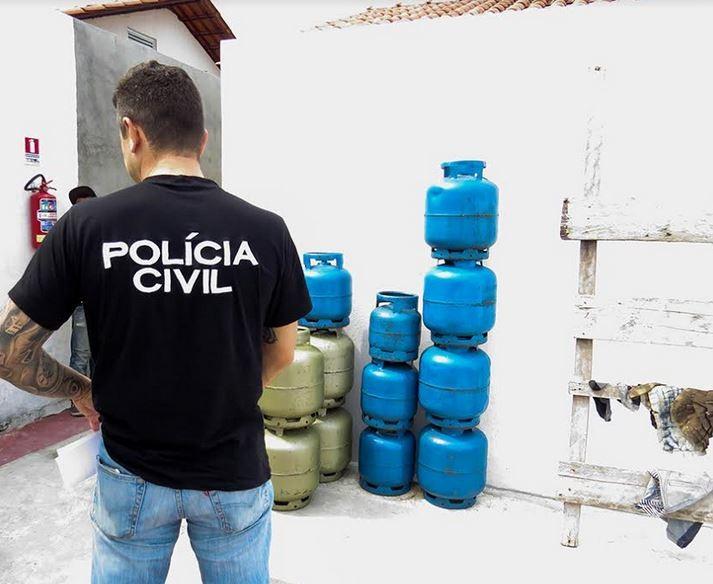 Operação contra venda irregular de gás resulta em 9 autuações na Zona Norte de Manaus