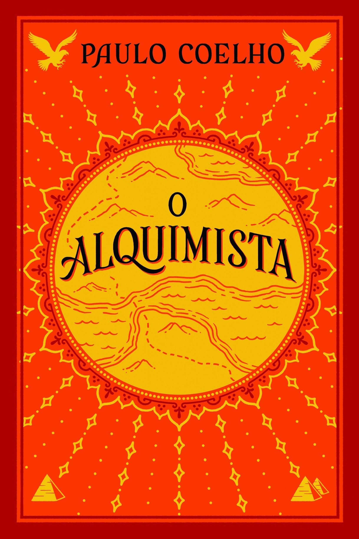 A capa de O Alquimista, do escritor brasileiro Paulo Coelho (Foto: Divulgação)