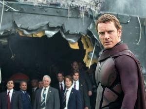 Michael Fassbender em cena de 'X-Men: Dias de um futuro esquecido' (Foto: Divulgação)
