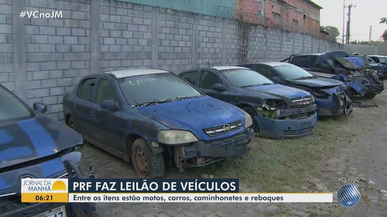 Polícia Rodoviária Federal promove leilão de veículos; saiba como participar