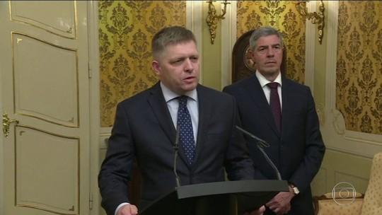 Primeiro-ministro da Eslováquia renuncia depois do assassinato de jornalista