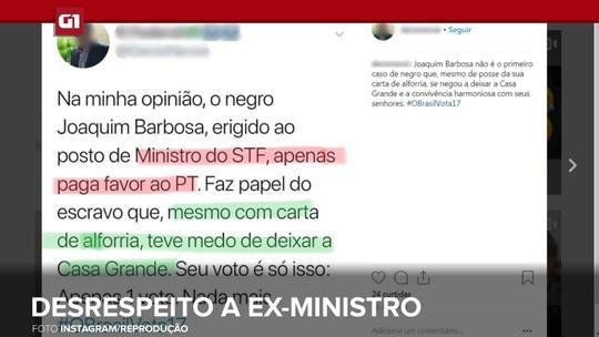 G1 em 1 Minuto Paraíba: PF investiga policial por desrespeito a Joaquim Barbosa