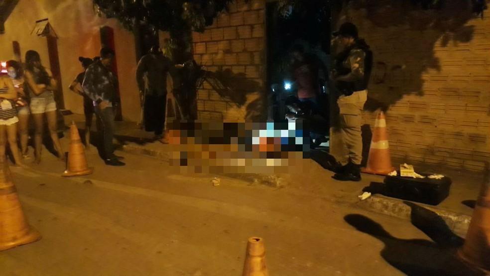Jovem de 17 anos morreu após ser baleada  (Foto: Wesley Silas/Divulgação)
