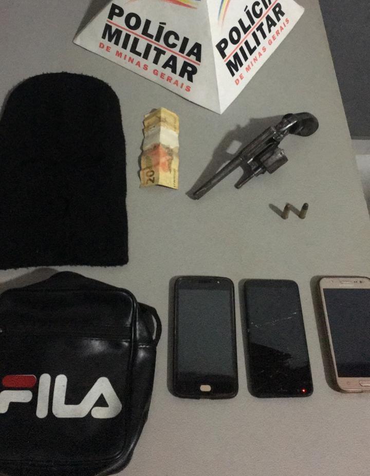 Grupo é detido após tentar roubar imóvel na zona rural de Muriaé
