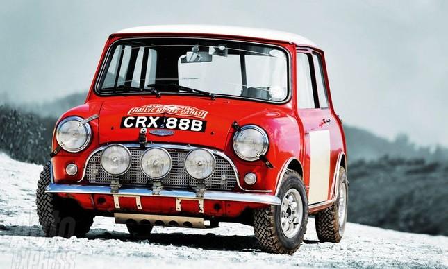 Mini Cooper di Rally de Montercarlo