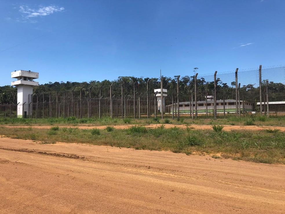 Presídio de Ariquemes inaugurado em julho de 2017 já registrou seis fugas de detentos (Foto: Jeferson Carlos/G1)