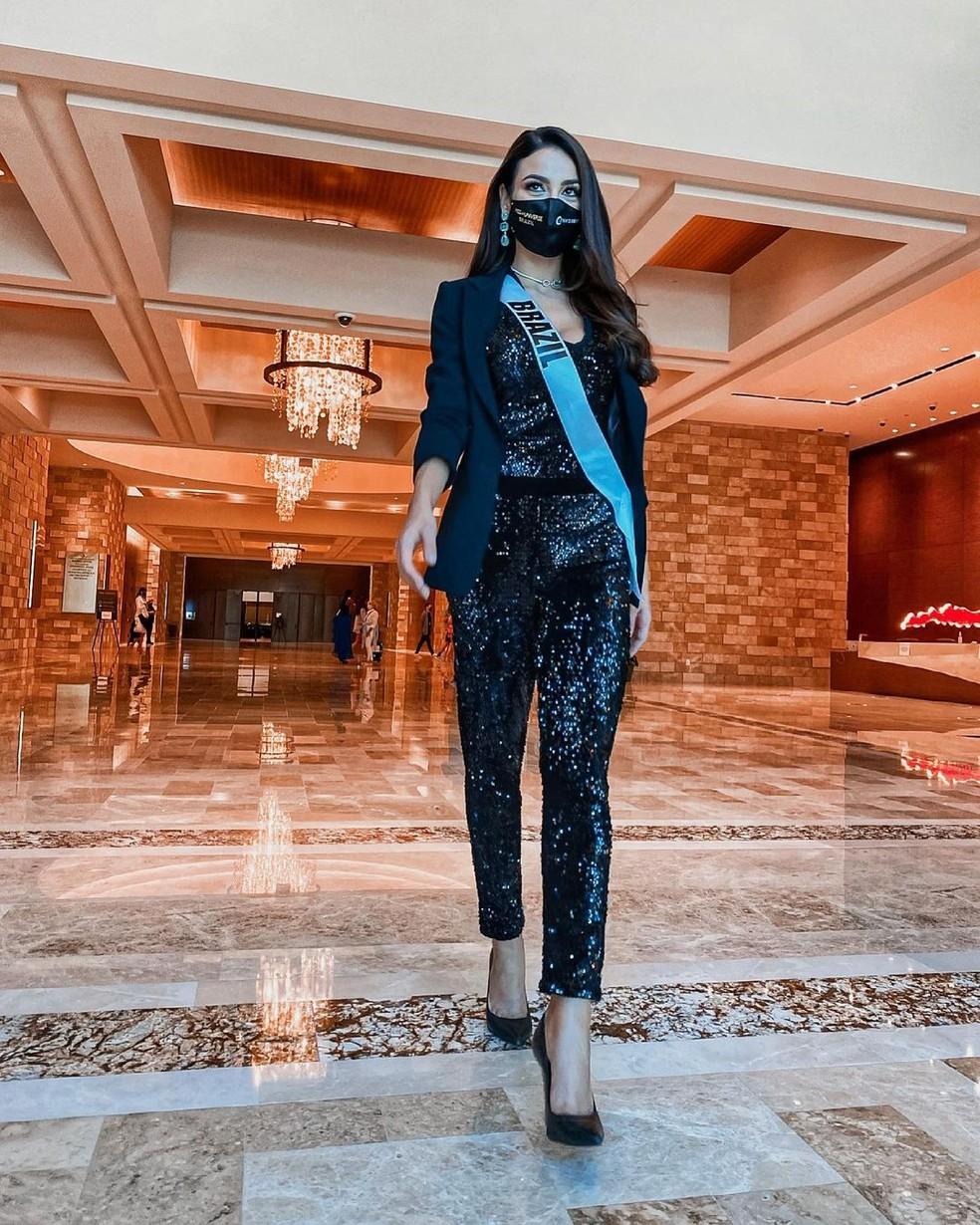 A gaúcha Julia Gama representa o Brasil no Miss Universo 2021 — Foto: Arquivo Pessoal