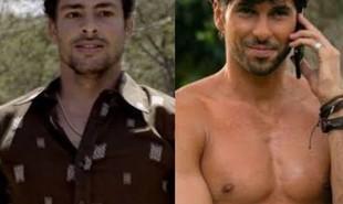 Leandro, o sommelier vivido por Cauã Reymond, virou Fabrizio, um especialista em café interpretado pelo peruano Jason Day | TV Globo - Divulgação