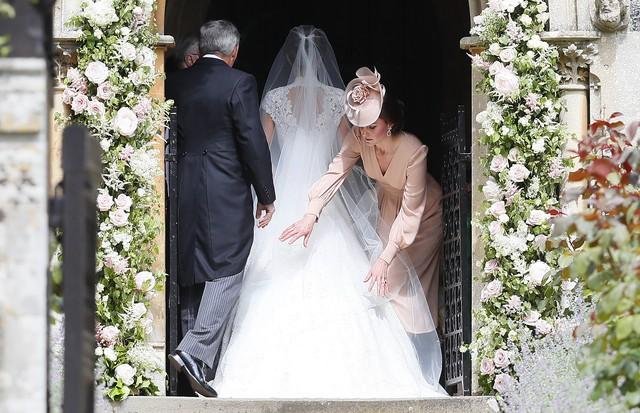 Kate Middleton no casamento da irmã, Pippa (Foto: Getty Images)