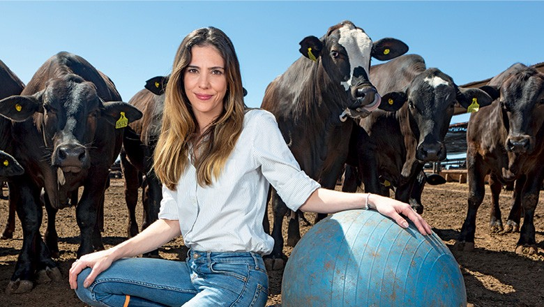 Bem-estar animal - Amália Sechis, CEO da Beef Passion (Foto: Fernando Martinho)