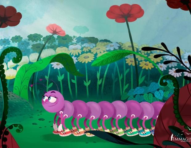 Zeropeia na versão animação (Foto: Reprodução)