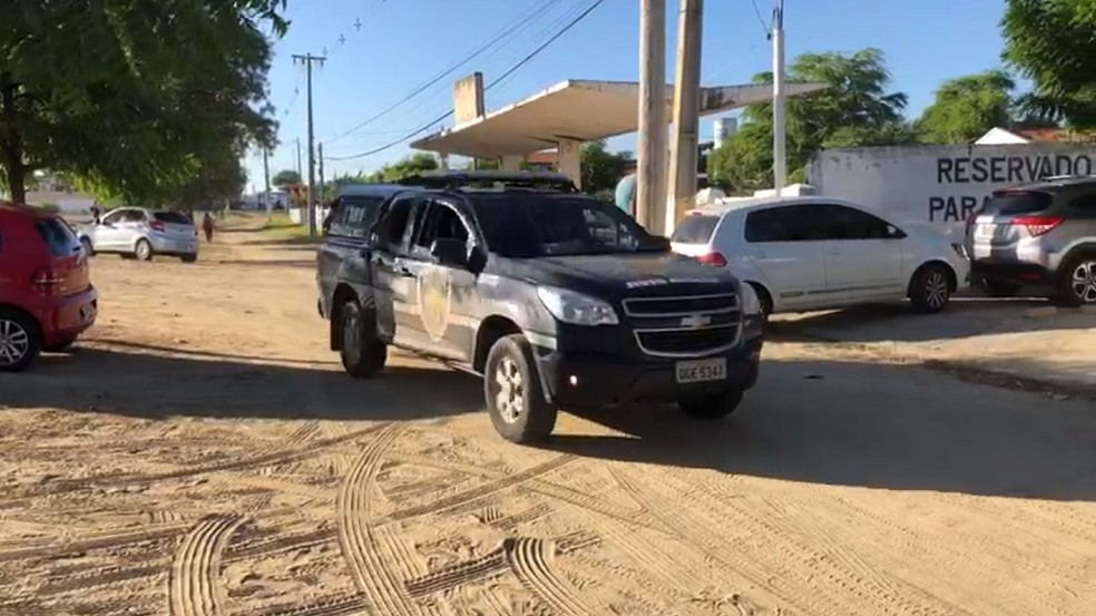 Operação Progresso tem 20 alvos na região Seridó, segundo a Polícia Civil.  — Foto: Sidney Silva