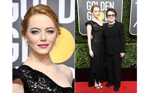 Emma Stone e Billie Jean King