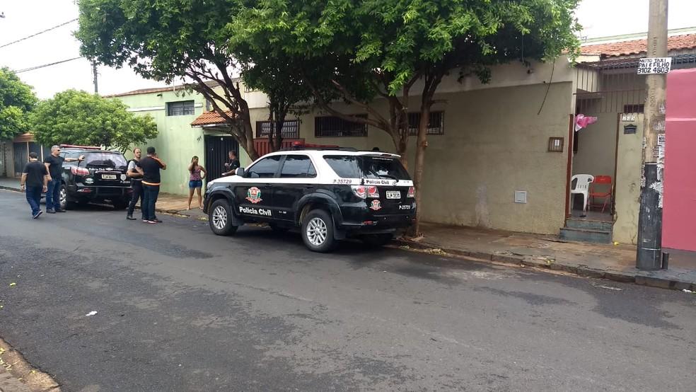 Polícia Civil de Campos do Jordão investigou e fez a prisão de suspeito em Ribeirão Preto — Foto: Divulgação/Polícia Civil