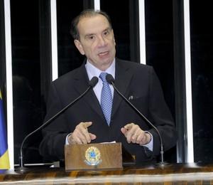 O senador Aloysio Nunes (PSDB-SP) (Foto: Waldemir Barreto/Agência Senado)