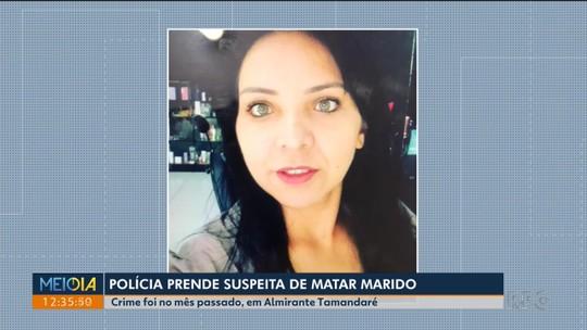 Mulher se entrega à polícia e confessa participação na morte de marido em Almirante Tamandaré
