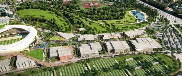 Estádio de futebol de David Beckham em Miami recebe aprovação popular (Foto: Divulgação)