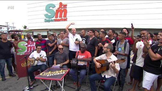 Papo animado: Cafezinho com Escobar chega a Maria da Graça