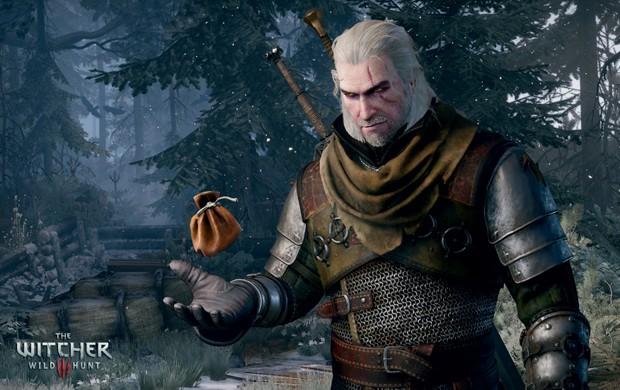 Geralt de Rivia é o protagonista de 'The Witcher 3' (Foto: Divulgação)