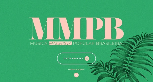 Projeto MMPB (Música Machista Popular Brasileira) denuncia assédio e machismo em canções (Foto: Reprodução)