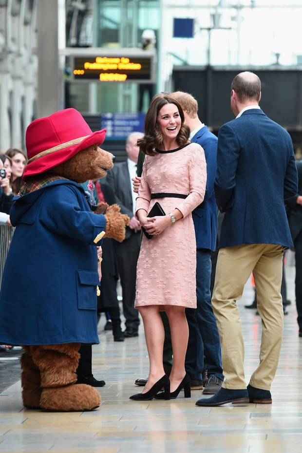 Kate Middleton com corte de cabelo novo (Foto: Eamonn M. McCormack/Getty Images)