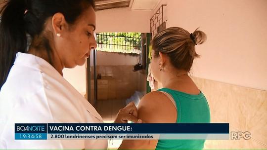 Saúde de Londrina começa nova etapa da vacinação contra a dengue