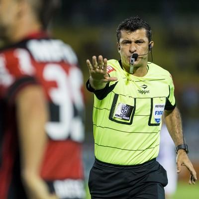 Sandro Meira Ricci Fluminense x Flamengo (Foto: Ag. Estado)