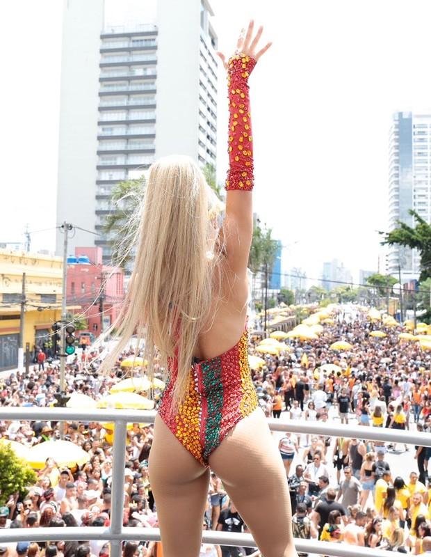 Lexa comanda bloco Sapequinha em SP (Foto: Divulgação)