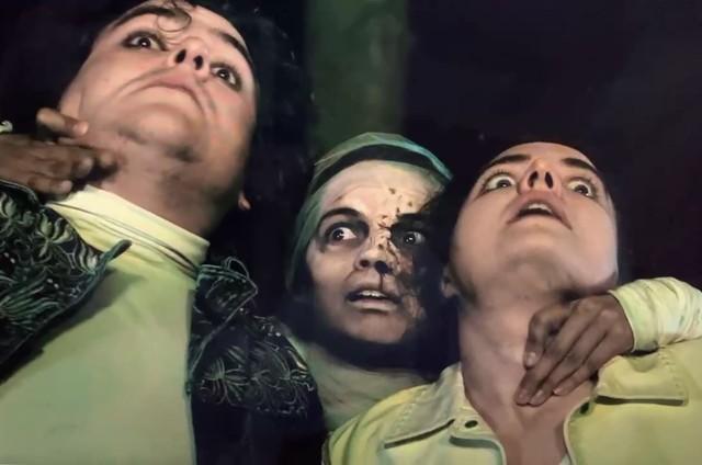Lorenz Grabow, Raquel Villar e Julia Zupanc em 'Fear 4 vier' (Foto: Arquivo pessoal)