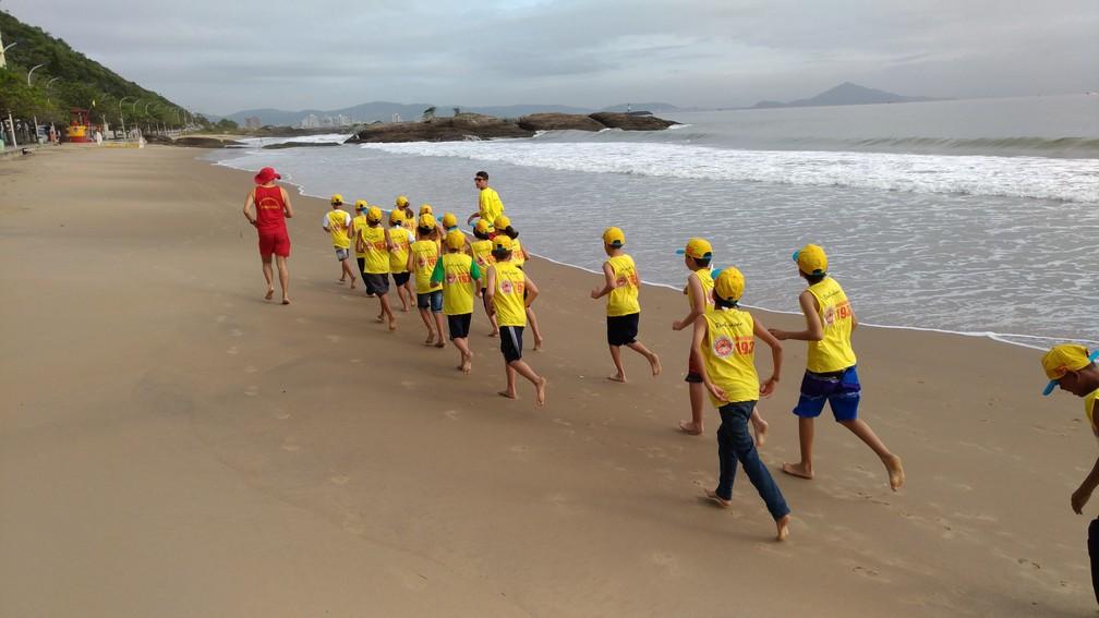 Praias do Litoral Norte tem atividades de prevenção nas praias (Foto: Corpo de Bombeiros/Divulgação)