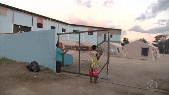 Roraima inaugura abrigo para índios refugiados venezuelanos