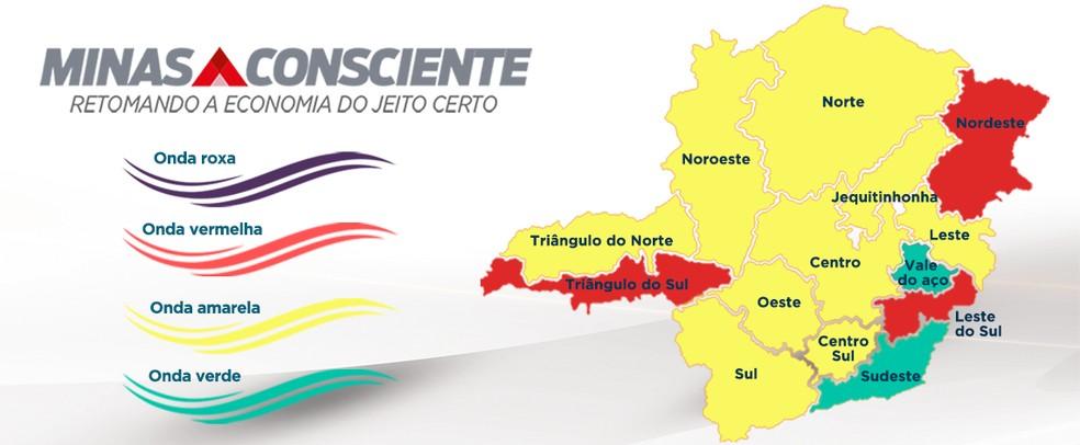 Atualização Minas Consciente 22/07 — Foto: Imprensa MG/Divulgação