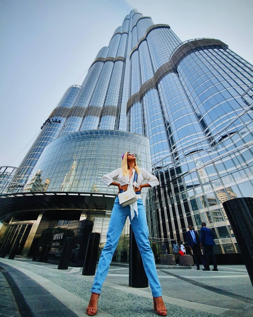 Gi Lancellotti em Dubai (Foto: Reprodução/Instagram)