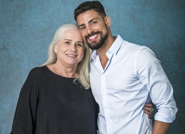 Vera Holtz e Cauã Reymond (Foto: Divulgação/TV Globo)