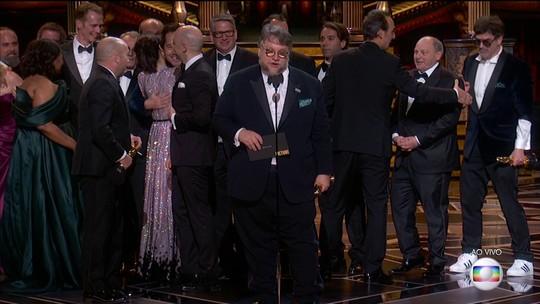 'A forma da água' é grande vencedor do Oscar 2018 em noite dividida e com feitos inéditos