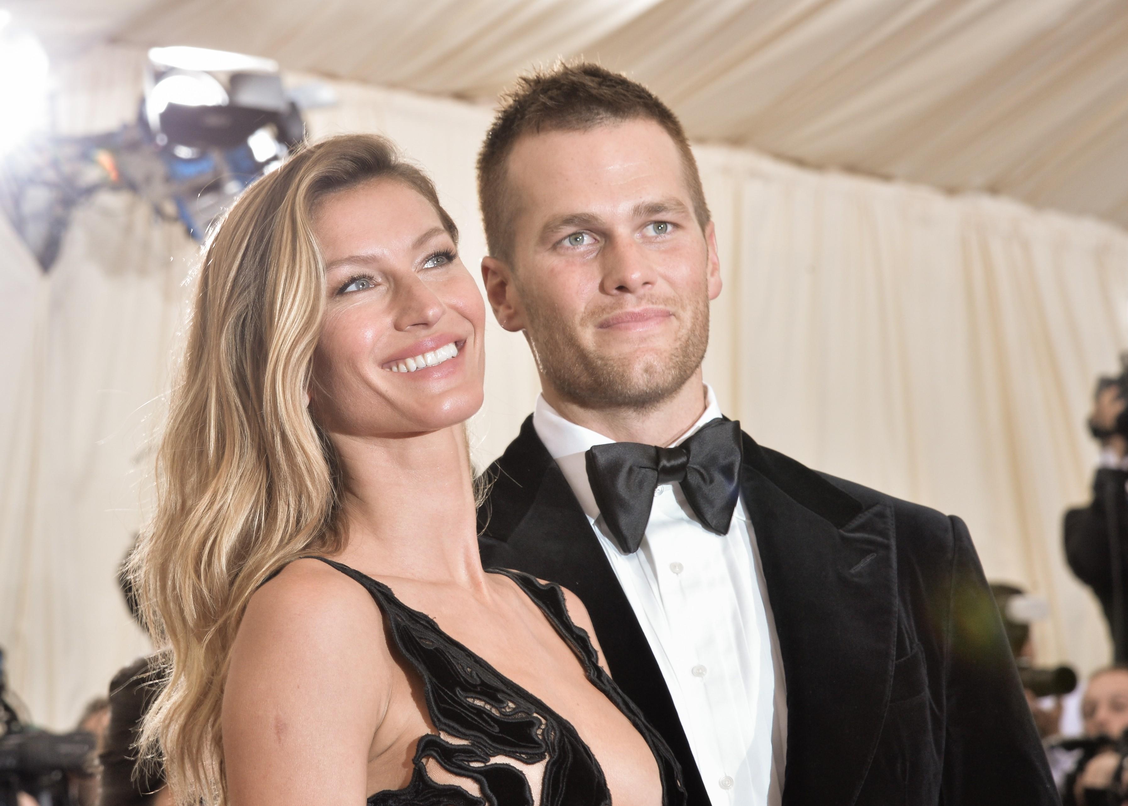 Gisele e Tom são casados desde 2009 e têm dois filhos, Vivian e Lake Brady (Foto: Getty Images)