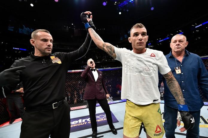 Renato Moicano foi o brasileiro mais bem pago do UFC 227 (Foto: Getty Images)